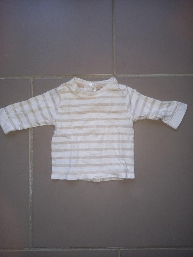 Tee shirt kitchoun 3 mois