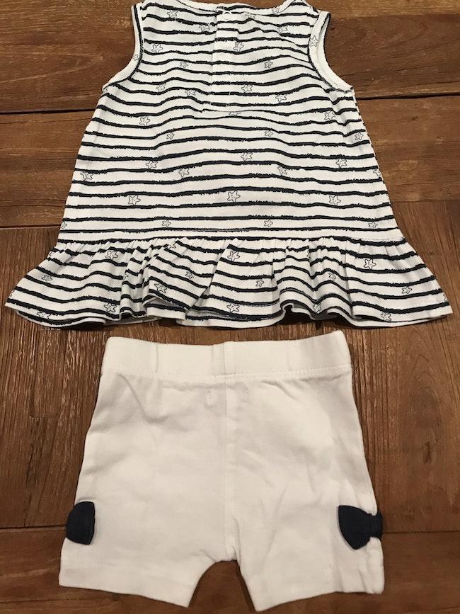 Ensemble robe short