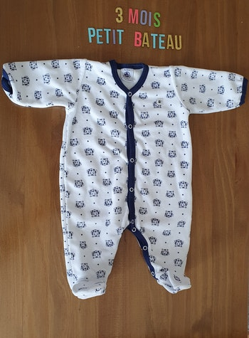 Pyjama Petit Bateau 3mois