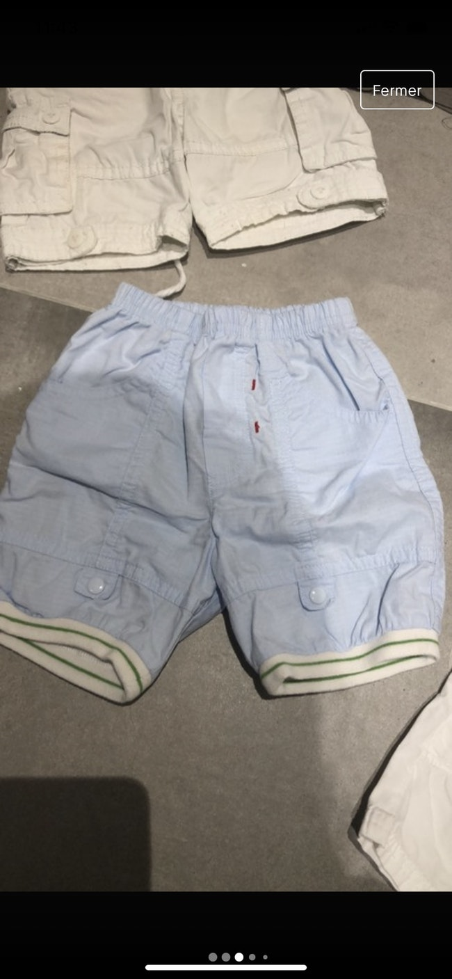 Lot shorts bébé
