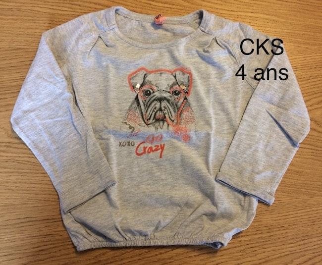 CKS / t-shirt / fille / 4 ans