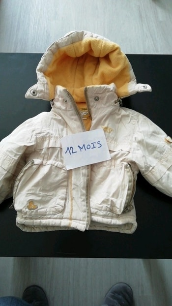 Manteau polaire 12 mois