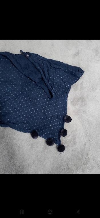 Cache-cou foulard fille