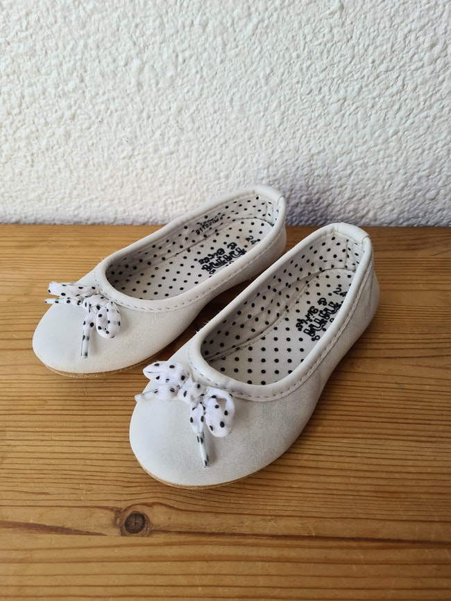 ballerine blanche Nini & girls