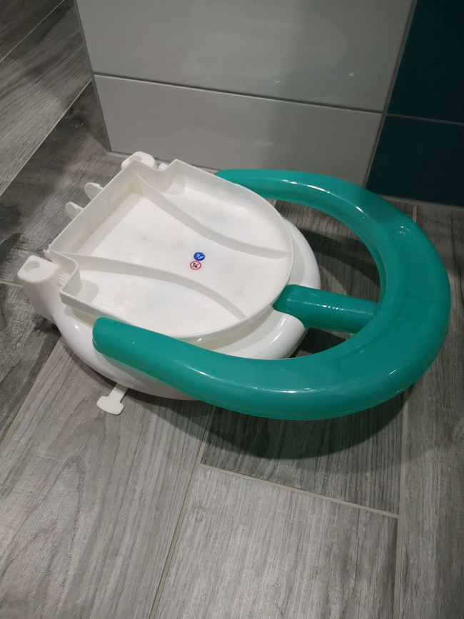 Siège de bain pliable
