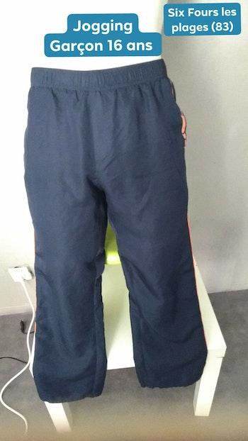 Pantalon de jogging 16 ans