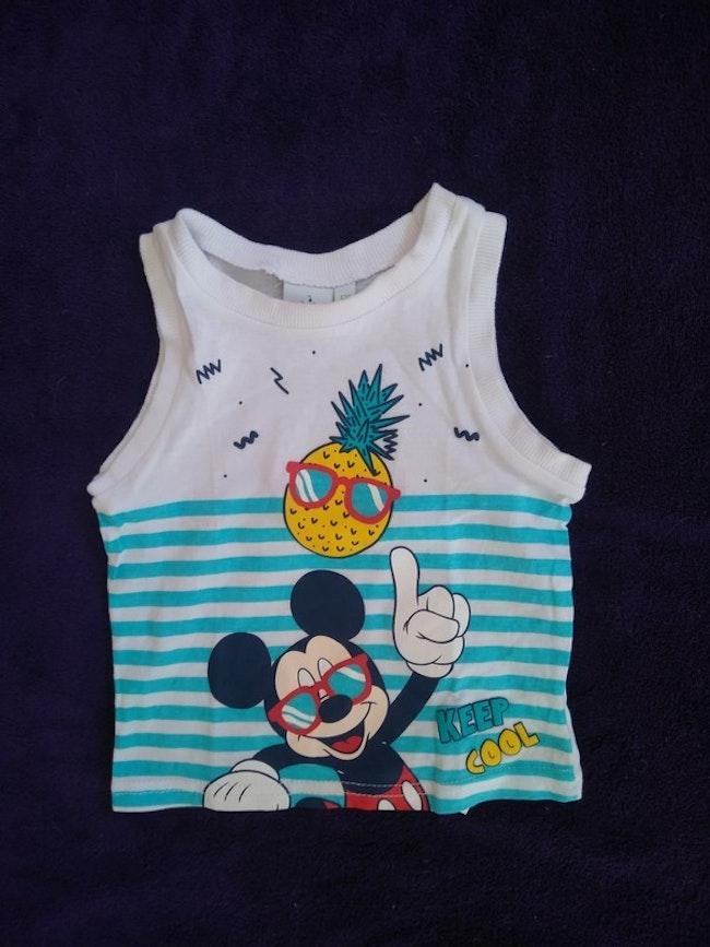 Débardeur Mickey taille 6 mois