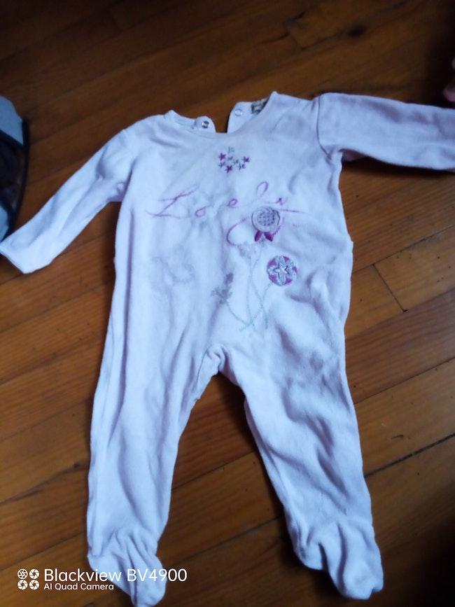 Lot pyjama velours