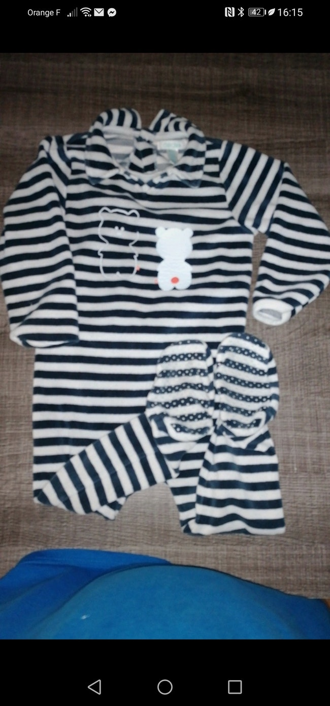 Pyjama 1 pièce 24 mois