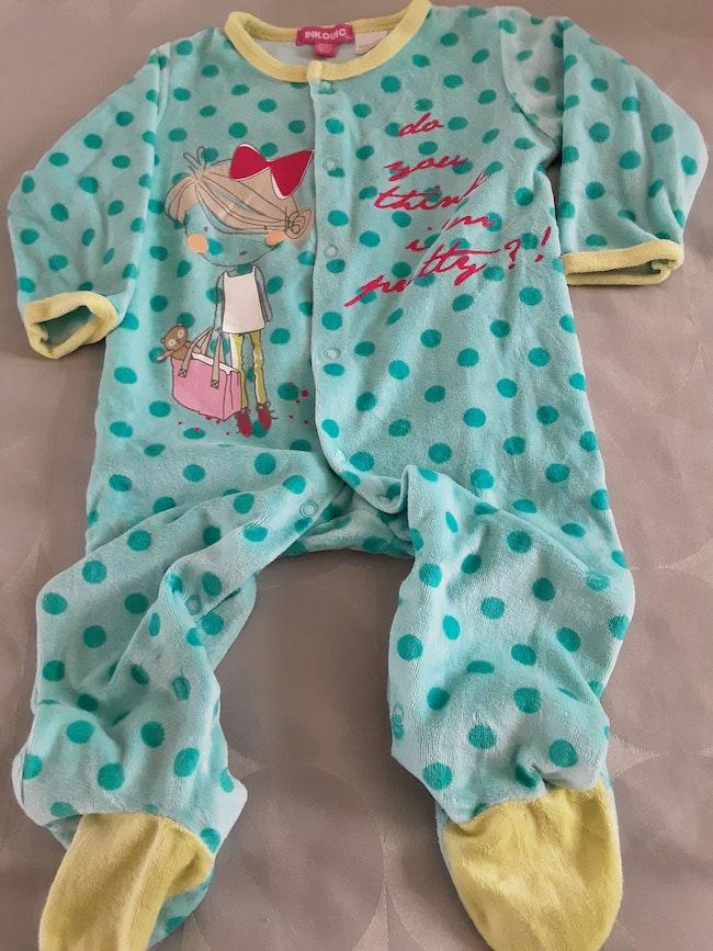 Pyjama fille  12 mois