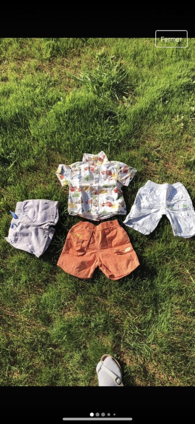 Ensemble été /tee-shirts / shorts