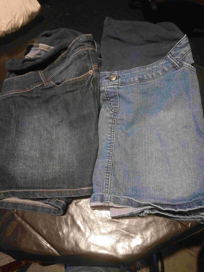 Lot jupe jean