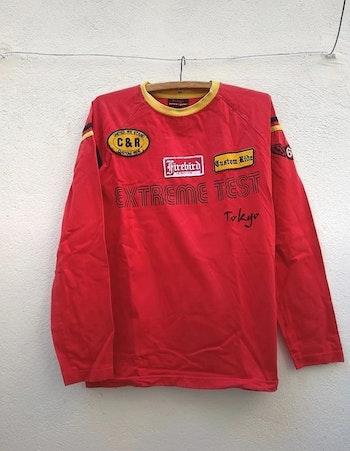 Tee-shirt rouge  taille M Tokyo denim bank