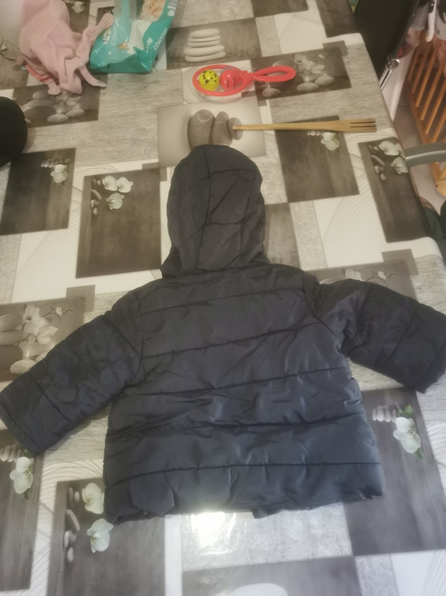 Manteau garçon en 12 mois