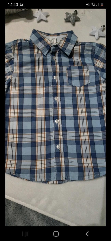 Chemise à carreaux, 24 mois