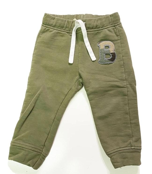 Pantalon vert 12 mois