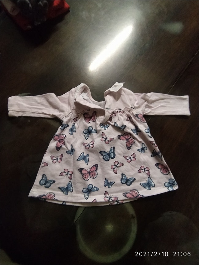 5 robes bébé fille 3 mois