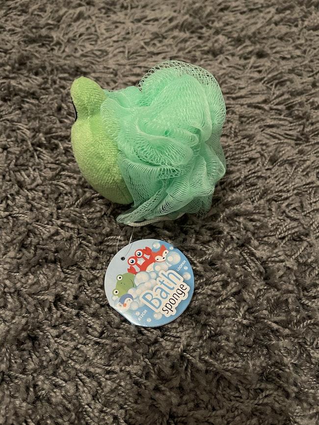 Fleur de bain grenouille