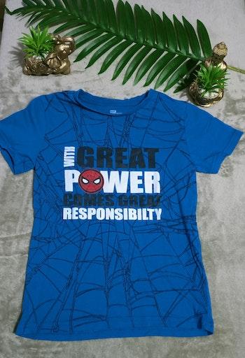 T-shirt manches courtes Marvel Spiderman garçon