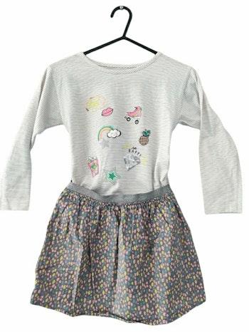 6 ans fille ensemble Teeshirt et jupe