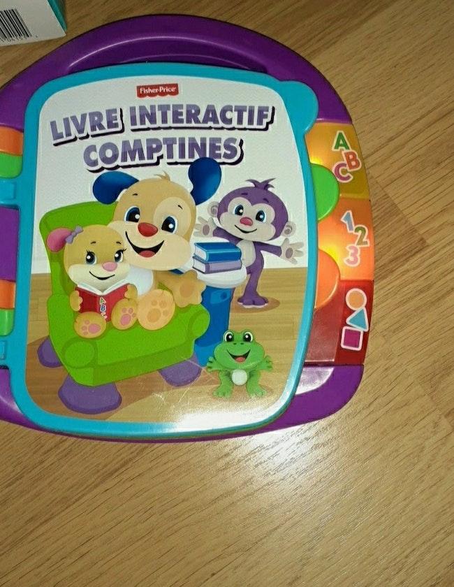 Livre interactif comptines