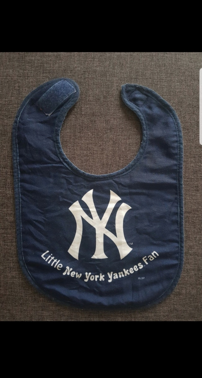 Bavoir bébé : Little New York Yankees Fan