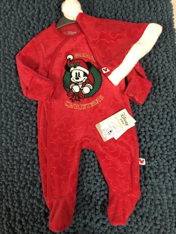 Pyjama mickey noël