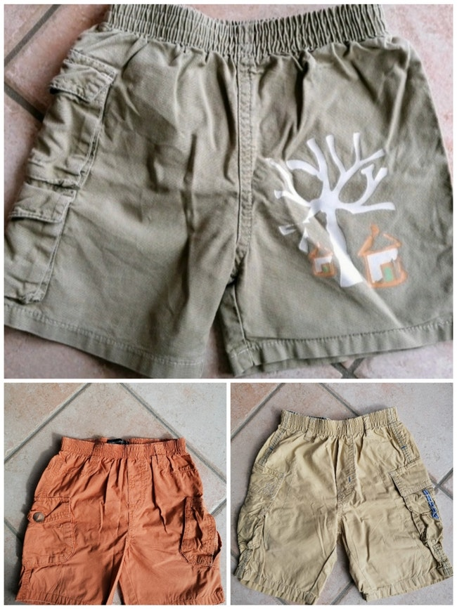 Lot shorts garçon 18 mois