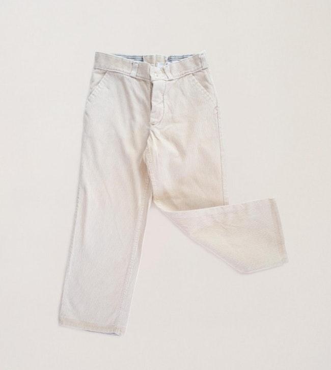 Pantalon velours côtelé fin