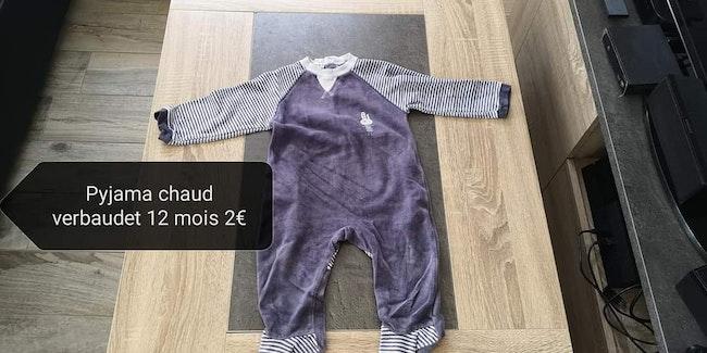 Lot 12 mois garçon