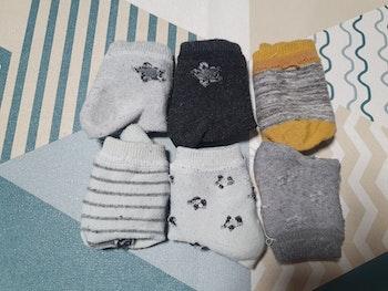 Lot de 6 chaussettes