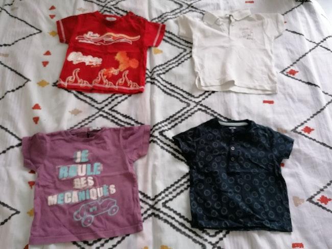 Lot de 4t-shirt