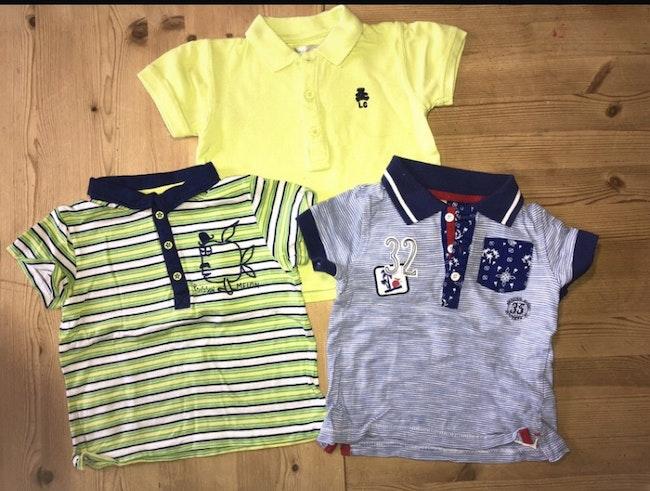 Lot polo tee-shirts