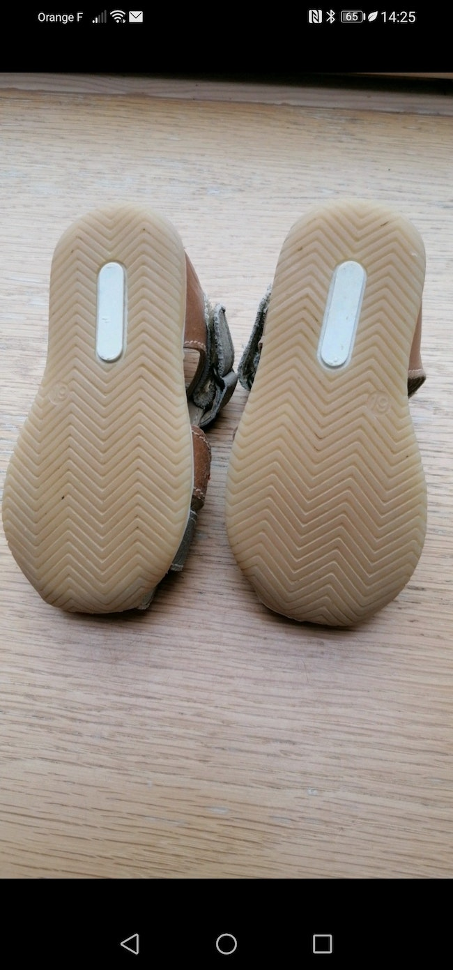 Sandales taille 19