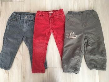 Lot 3 pantalons 2 ans