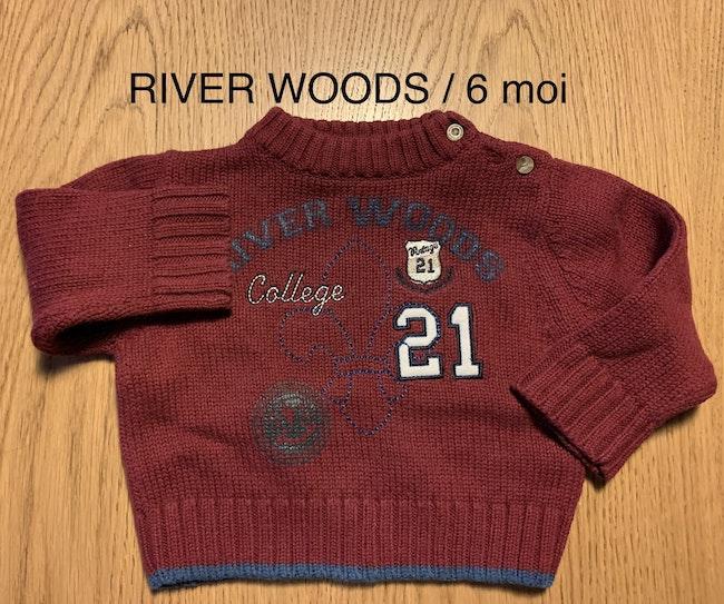 River Woods / pull / garçon / 6 mois