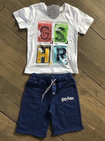 Short et t shirt Harry Potter 6 ans