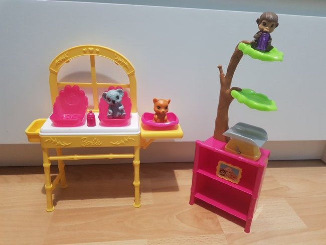 Barbie coffret métier : Vétérinaire de zoo