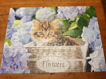 Puzzle enfants Petit chat
