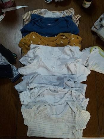 Lot de bodys Manches courtes 18 mois