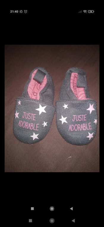 Chaussons 3-6 mois