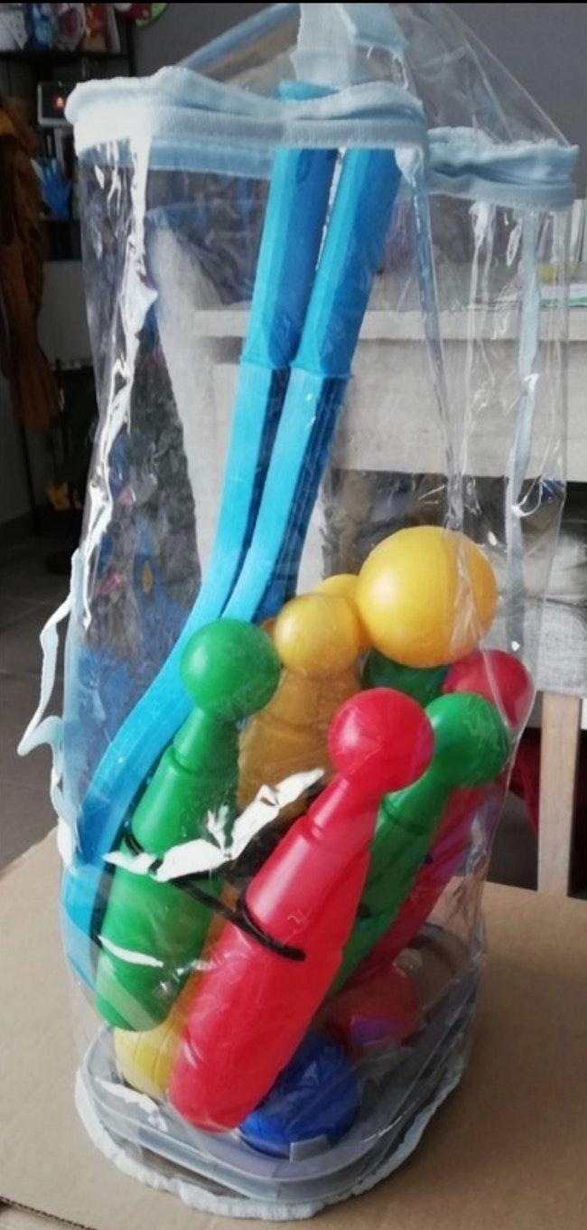 Set de jeux en plastique coloré