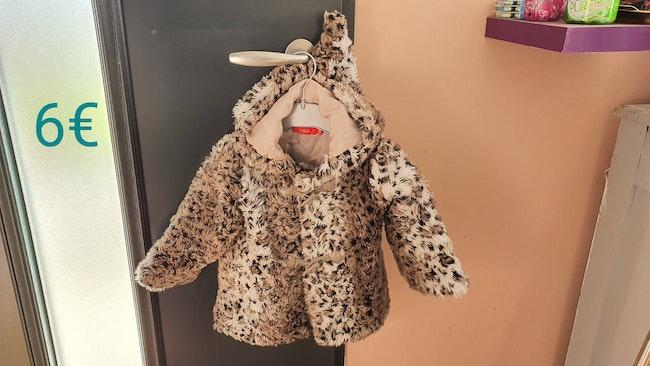 Manteau fourée extérieur 18mois