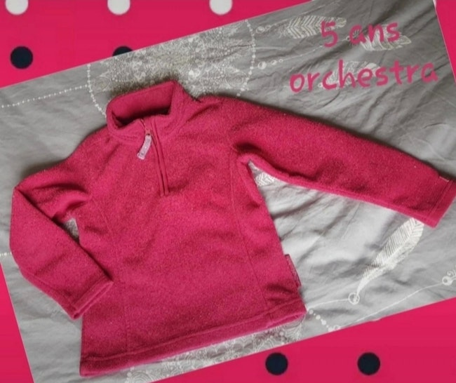 Pull polaire 5 ans orchestra