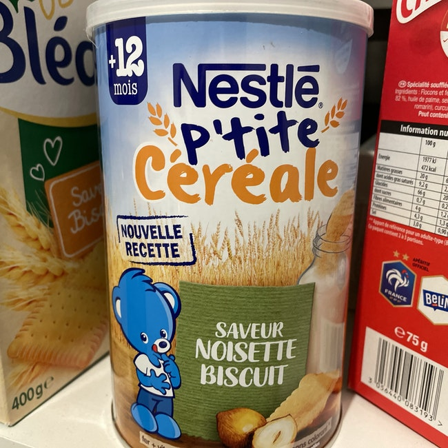 Céréales noisettes
