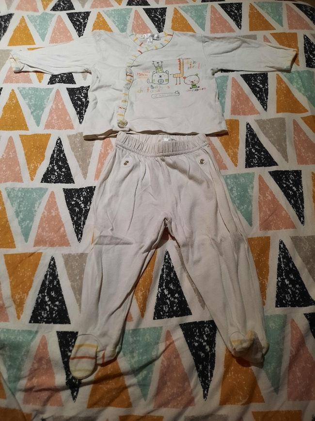 Pyjama 2 pièces 6 mois