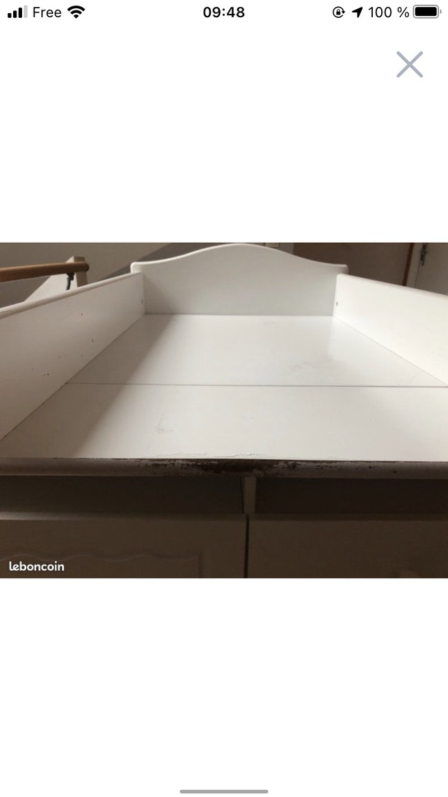Table à langer vertbaudet
