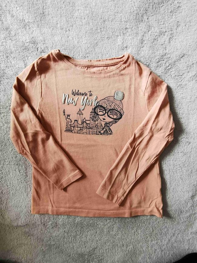 T-shirt manches longues vertbaudet 4ans