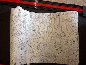 papier à colorier Ikea 10 m