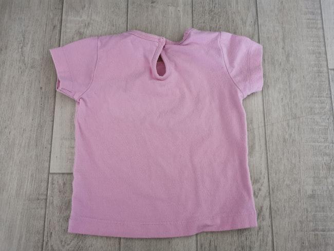 T shirt Rose 9 mois nucleo